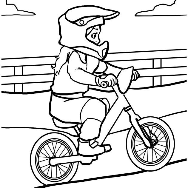 Bmx Colouring Pictures My First BMX Race The Coloring Book by Brittny Love